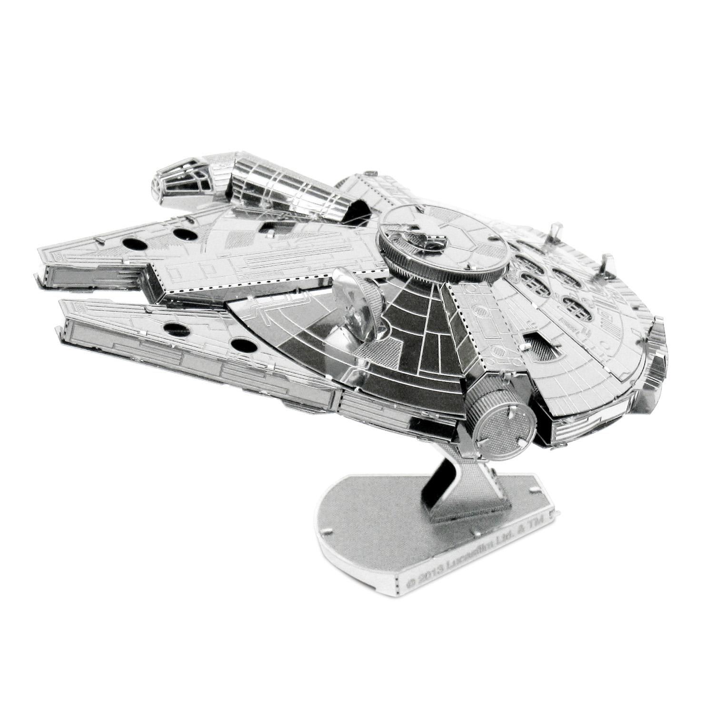 Star Wars Metal Earth 3d Model Kit - Millenium Falcon (mms251)