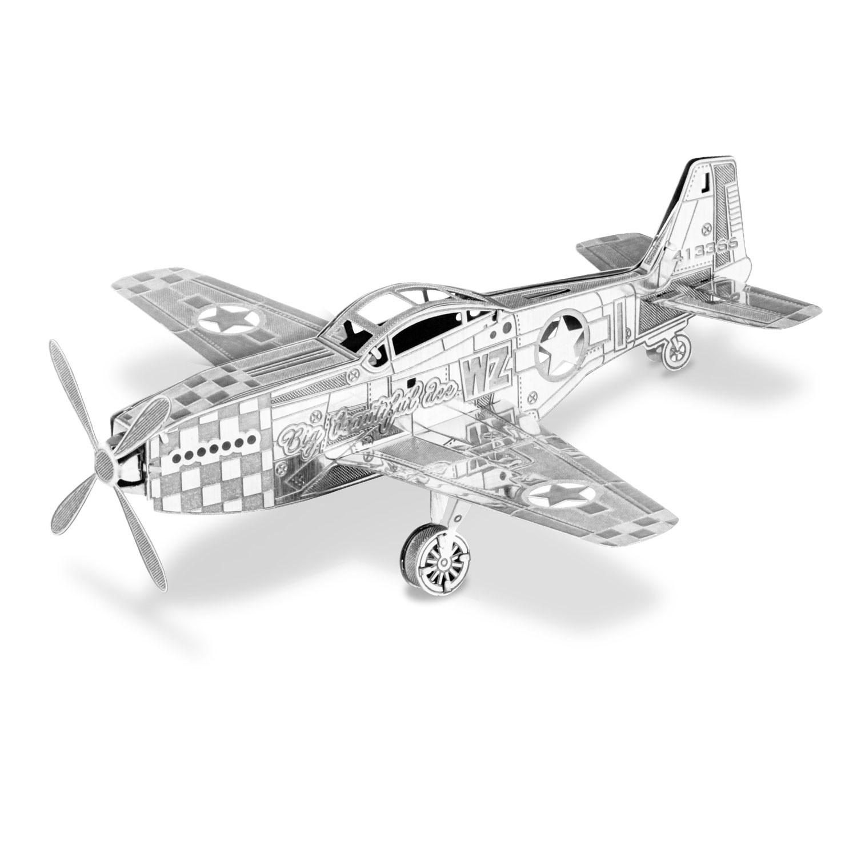 Metal Earth 3d Model Kit - P-51 Mustang (mms003)