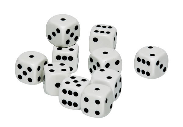 Pack Of 10 Dice