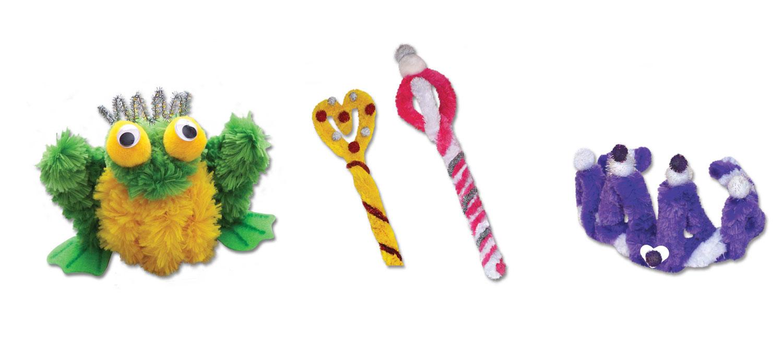 Brain Noodles Craft Kit - Princess & Frog